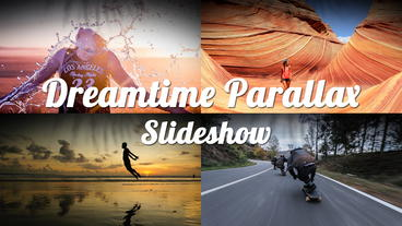 Dreamtime Parallax Slideshow After Effects Project