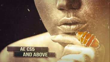 Grunge Slide Trailer After Effectsプロジェクト