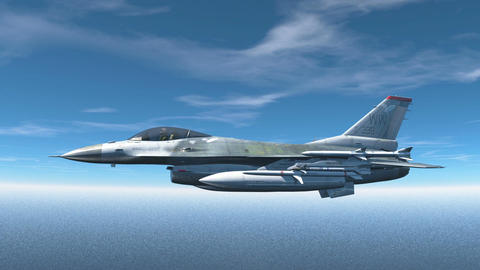 Fighter jet CG動画素材
