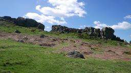 Ilkley Moor view