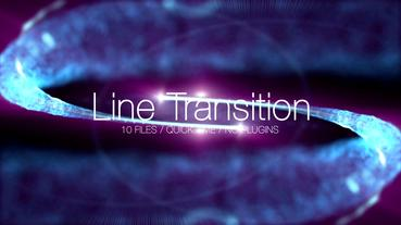 Line Transition Color Pack After Effects Template