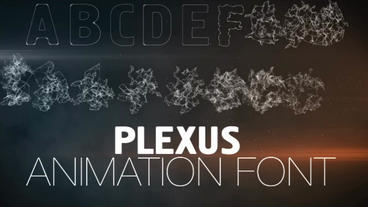 Plexus Animation Font After Effectsテンプレート