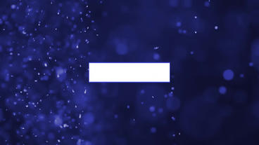 Particles Text Intro Plantilla de After Effects