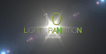 Light Transition 10 Pack After Effects Template