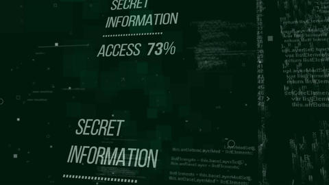 Secret Information Access Animation