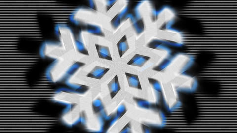 Snowflake Pulse Animation