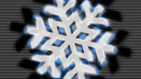 Snowflake Pulse Animation
