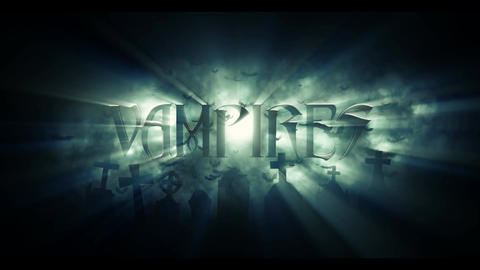 Title Vampires After Effects Template