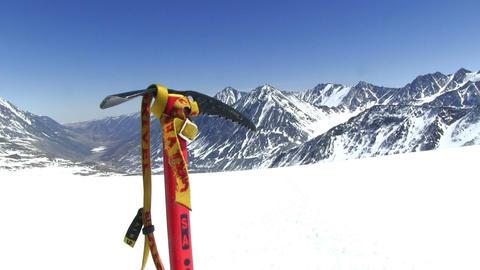 Winter Mountain Landscape Footage