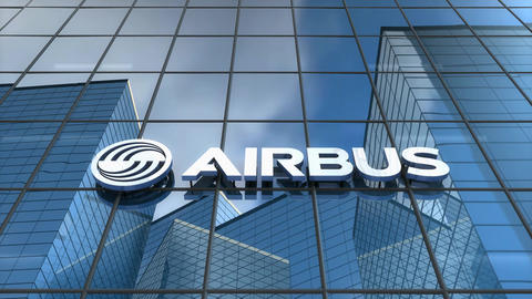 Editorial Airbus building Animation