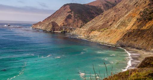 Landscape Central Coast of California Footage