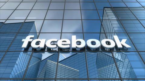 Editorial Facebook building Animation
