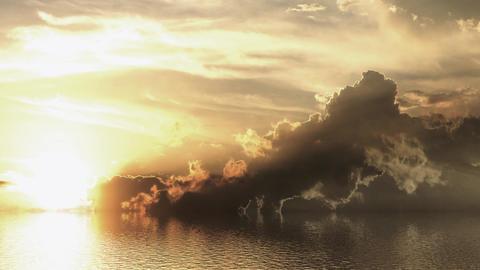 Sea sunset Animation