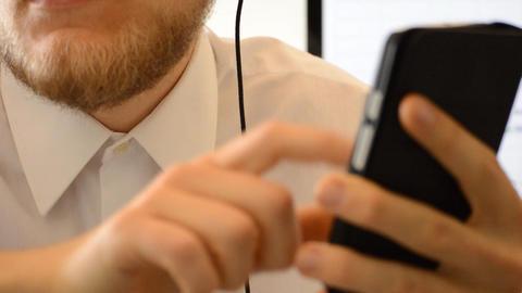 Operator Speaking And Seeking Info On Smartphone Footage