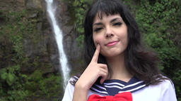 Adorable Cosplay Teen Female Live Action