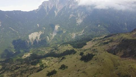 DJI MAVIC 4K Taiwan Aerial Drone Video Nantou Hehuan Mountain Small Jilai 201704 Footage