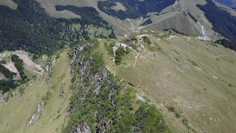 DJI MAVIC 4K Taiwan Aerial Drone Video Nantou Hehuan Mountain East Peak 20170430 Footage