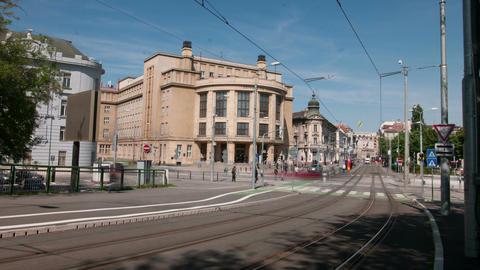 The university of Bratislava, Slovakia Live Action