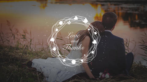 12 Titles For Wedding After Effects Template