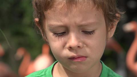 Sad And Depressed Toddler Boy Live Action
