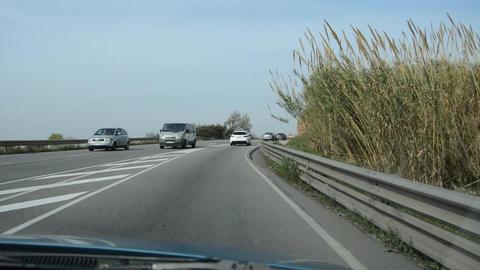 Transport In Little Traffic Footage