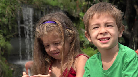 Adorable Toddler Brother And Sister Live Action
