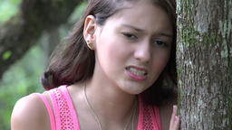 Upset And Frustrated Teen Girl Live Action