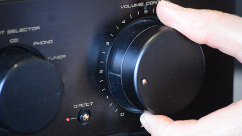 Turning The Volume Knob Live Action