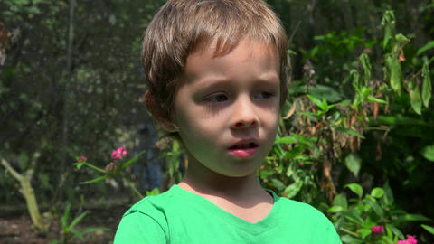 Confused Young Toddler Boy Live Action
