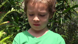 Curious Young Toddler Boy Live Action