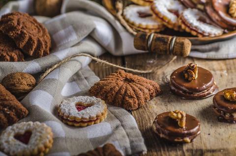 Czech Christmas cookies Photo