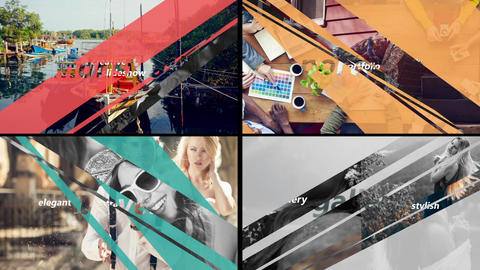 Smooth Transition-Color Transition After Effects Template
