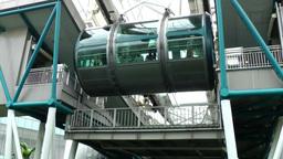 "Singapore 005 Steel Construction of Ferris Wheel ""The Singapore Flyer"" Footage"