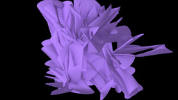 Abstract 3d Shape Animation Animation