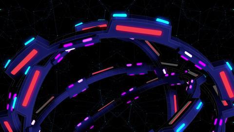 Cosmic Gate Mechanism 4K Vj Loop 02 Animation