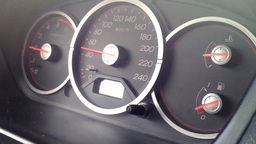 speedometer in the car Footage