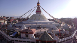 Boudhanath Stupa,Kathmandu,Nepal Footage