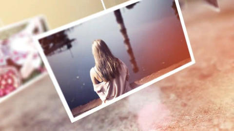 Hanging Photo Gallery After Effects Template