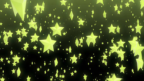 The rising stars Animation
