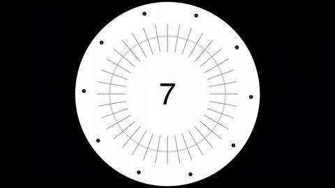 COUNTDOWN from 10 to 0 Animation