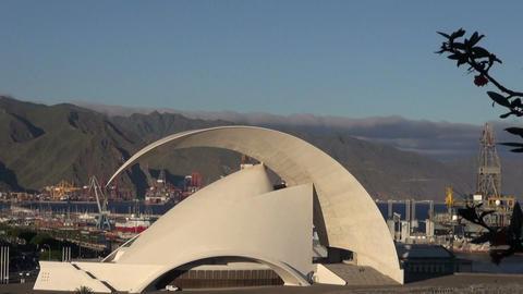 Auditorio de Tenerife Footage