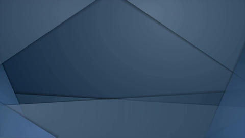 Abstract dark blue corporate material video animation Animation