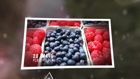 3D Modern Slideshow After Effectsテンプレート