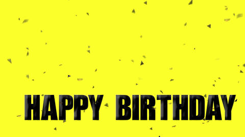 Happy Birthday Animación