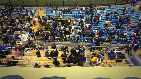 Bombonera Stadium In Buenos Aires Footage