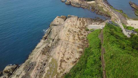 Aerial Video Taiwan Xinbei Yeh Liu Geo Park 20170514 4 Live Action