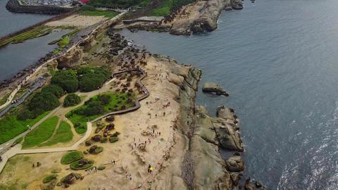 Aerial Video Taiwan Xinbei Yeh Liu Geo Park 20170514 5 Live Action