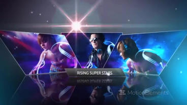 Super Star Slideshow After Effects Template
