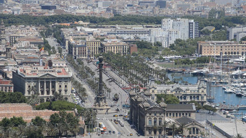 Barcelona Video Postcard Footage