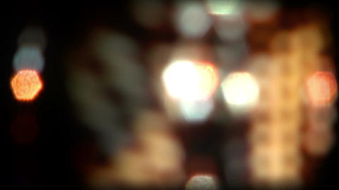 Real Light Leaks and Bokeh - Loop 02 - Golden - Fast Animation